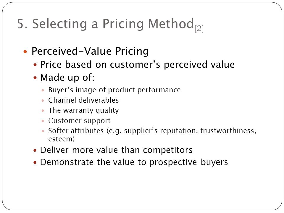 selecting a pricing method Selecting an appropriate stat method: general case for many types of data analysis problems there are no more than a couple of general approaches to be considered on the route to the problem's solution for example, there is often a dichotomy between highly-efficient methods appropriate for data.